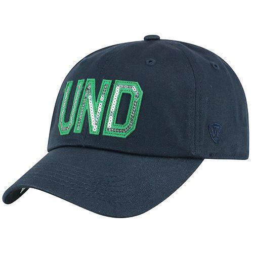 Women's Top of the World Notre Dame Fighting Irish Glow District Adjustable Cap