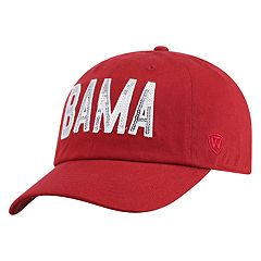 Women's Top of the World Alabama Crimson Tide Glow District Adjustable Cap
