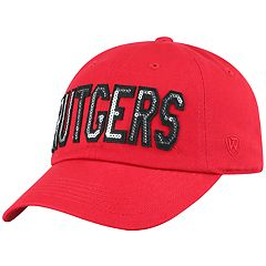 Women's Top of the World Rutgers Scarlet Knights Glow District Adjustable Cap