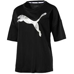 Women's PUMA Summer Metallic Graphic Tee