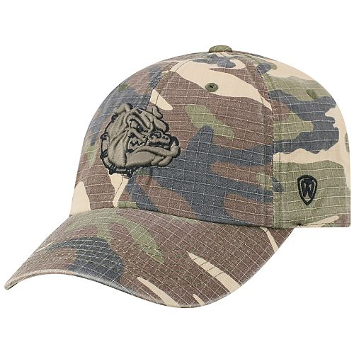 Adult Top of the World Gonzaga Bulldogs Hero Adjustable Cap