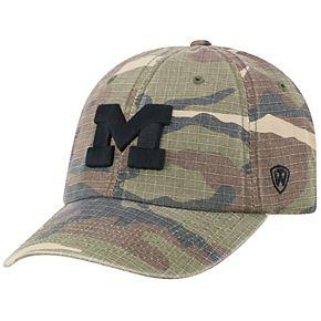 Adult Top of the World Michigan Wolverines Hero Adjustable Cap