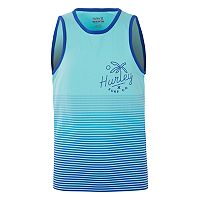Boys 8-20 Hurley Ombre-Striped Tank