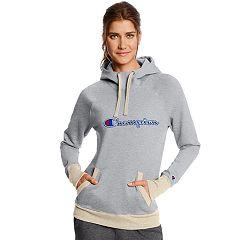Women's Champion Applique Fleece Pullover Hoodie