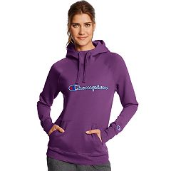 Women's Champion Applique Fleece Pullover Hoodie