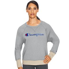 8e489d09 Women's Champion Applique Fleece Crewneck Sweatshirt