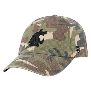 Adult Top of the World Washington State Cougars Hero Adjustable Cap