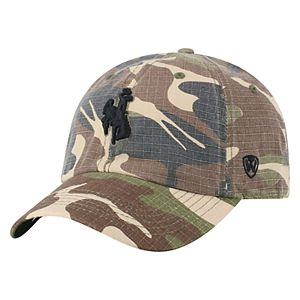 Adult Top of the World Wyoming Cowboys Hero Adjustable Cap