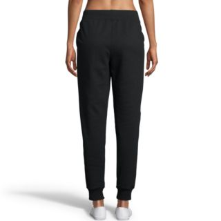 Women's Champion Applique Fleece Mid-Rise Jogger Sweatpants