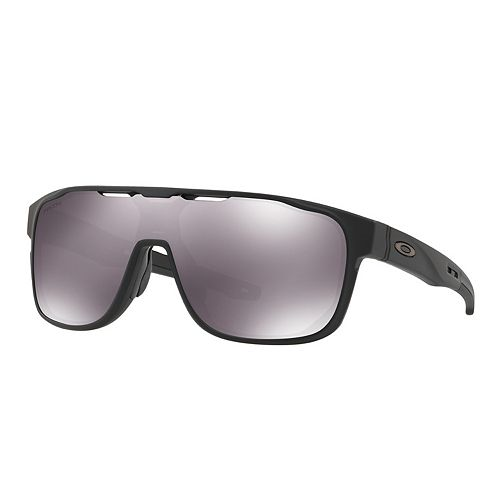 Oakley Crossrange OO9387 31mm Shield Prizm Black Mirrored Sunglasses