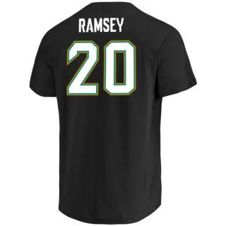 Men's Majestic Jacksonville Jaguars Jalen Ramsey Name & Number Tee