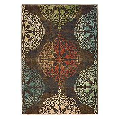 StyleHaven Damien Medallions Rug