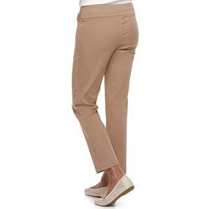 Petite Croft & Barrow® Effortless Stretch Pull-On Pants