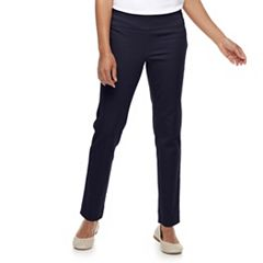 Petite Croft & Barrow® Effortless Stretch Pull-On Pants