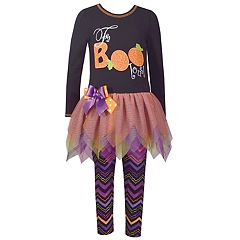 Girls 4-6x Bonnie Jean 2-Piece Halloween Dress Set