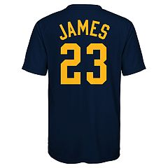 Boy's 8-20 Cleveland Cavaliers LeBron James Name & Number Performance Tee