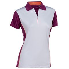 Women's Nancy Lopez Bee Short Sleeve Golf Polo