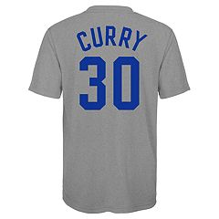 Boy's 8-20 Golden State Warriors Stephen Curry Name & Number Performance Tee