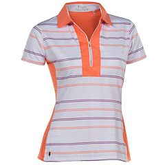 Women's Nancy Lopez Crystal Short Sleeve Golf Polo