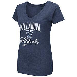 Women's Colosseum Villanova Wildcats Wordmark Tee