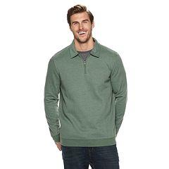 Big & Tall Croft & Barrow® Classic-Fit Extra-Soft Quarter-Zip Pullover