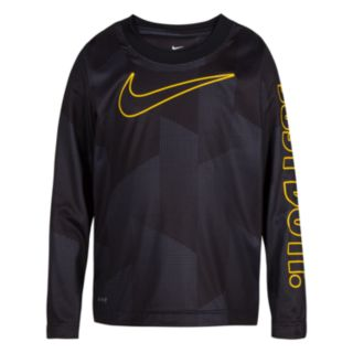 Boys 4-7 Nike Abstract Dri-FIT Long Sleeve Top