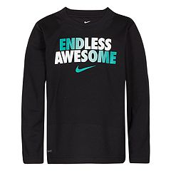 Boys 4-7 Nike 'Endless Awesome' Logo Dri-FIT Top