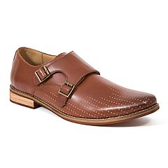 Deer Stags Cyprus Men's Monk Strap Dress Shoes