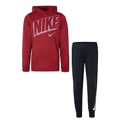 Boys 4-7 Nike Pullover Hoodie & Tricot Jogger Pants Set