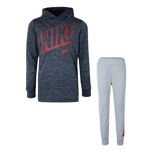 2991f8ee8f Boys 4-7 Nike Pullover Hoodie & Tricot Jogger Pants Set