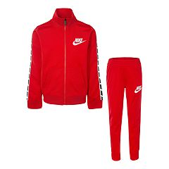 Boys 4-7 Nike Block Taping Mock Layer Zip Jacket & Jogger Pants Set