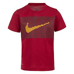 Boys 4-7 Nike Swoosh Dots Dri-FIT Graphic Tee