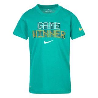 "Boys 4-7 Nike ""Game Winner"" Dri-FIT Graphic Tee"