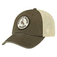 Adult Top of the World Wyoming Cowboys Keepsake Adjustable Cap