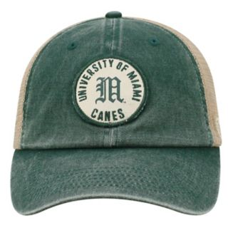 Adult Top of the World Miami Hurricanes Keepsake Adjustable Cap