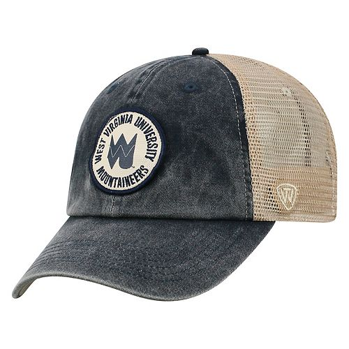 Adult Top of the World West Virginia Mountaineers Keepsake Adjustable Cap