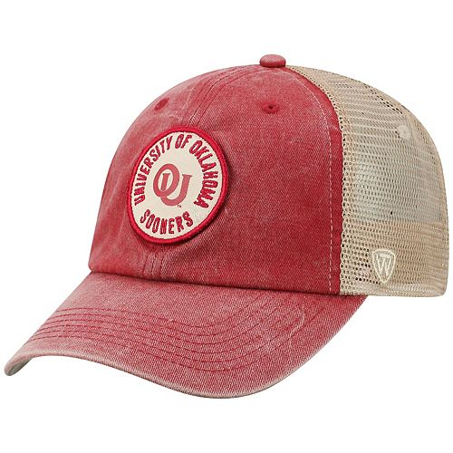 Adult Top of the World Oklahoma Sooners Keepsake Adjustable Cap