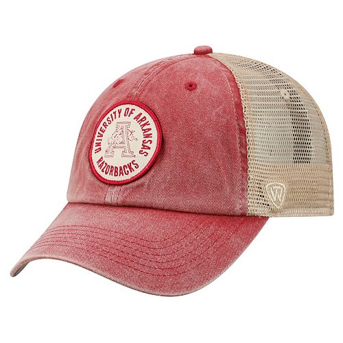 Adult Top of the World Arkansas Razorbacks Keepsake Adjustable Cap