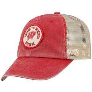Adult Top of the World Wisconsin Badgers Keepsake Adjustable Cap