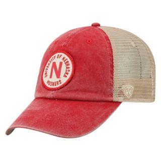 Adult Top of the World Nebraska Cornhuskers Keepsake Adjustable Cap