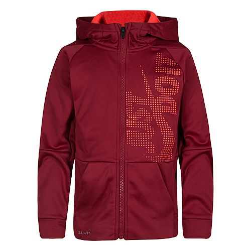 """Boys 4-7 Therma Legacy """"Just Do It."""" Hooded Jacket"""