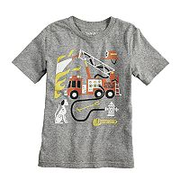 Boys 4-10 Jumping Beans® Fire Truck Graphic Tee
