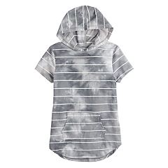 Girls 7-16 & Plus Size SO® Tunic Tee Hoodie