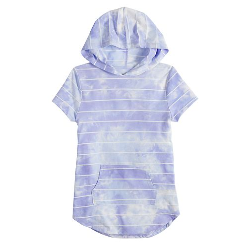 Girls 7-16 & Plus Size SO® Tunic Tee Hoodie