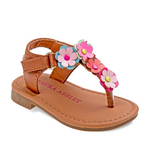 Laura Ashley Lifestyles Floral Toddler Girls' Sandals