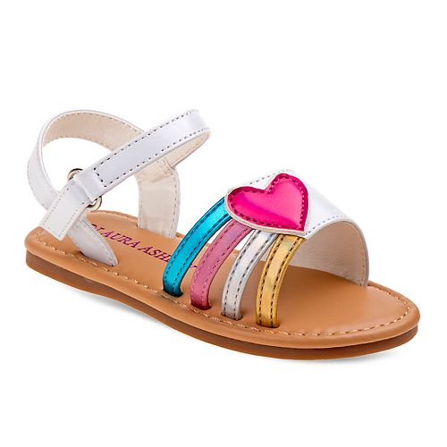 Laura Ashley Lifestyles Heart Toddler Girls' Sandals
