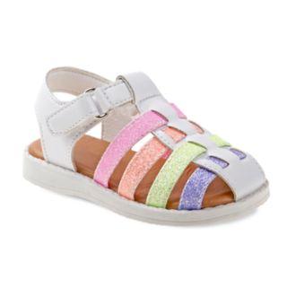 Laura Ashley Glitter Toddler Girls' Sandals