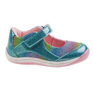 Laura Ashley Lifestyles Glittery Toddler Girls' Mary Jane Shoes