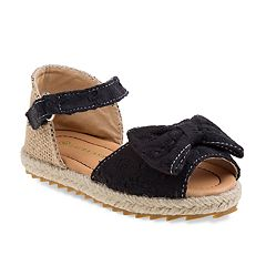 Laura Ashley Bow Toddler Girls' Espadrille Sandals