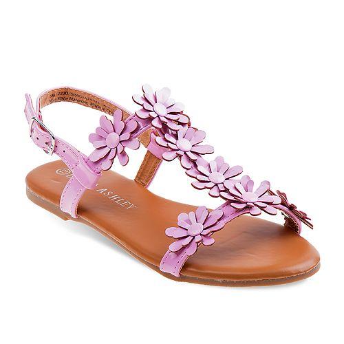 Laura Ashley Floral Toddler Girls' Sandals